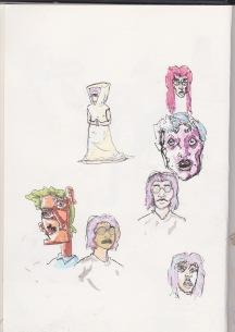 Coloured face play
