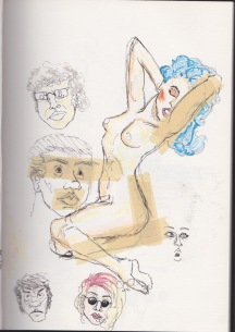 Crap faces + naked lady
